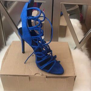Zara heels worn 2x